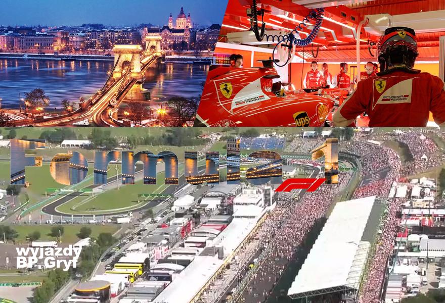Wyjazdy na wyścigi Formula 1.